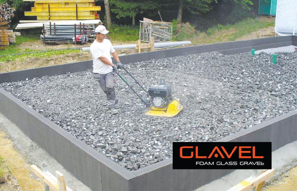 thermal building gravel